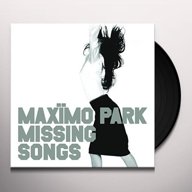 Maximo Park MISSING SONGS Vinyl Record