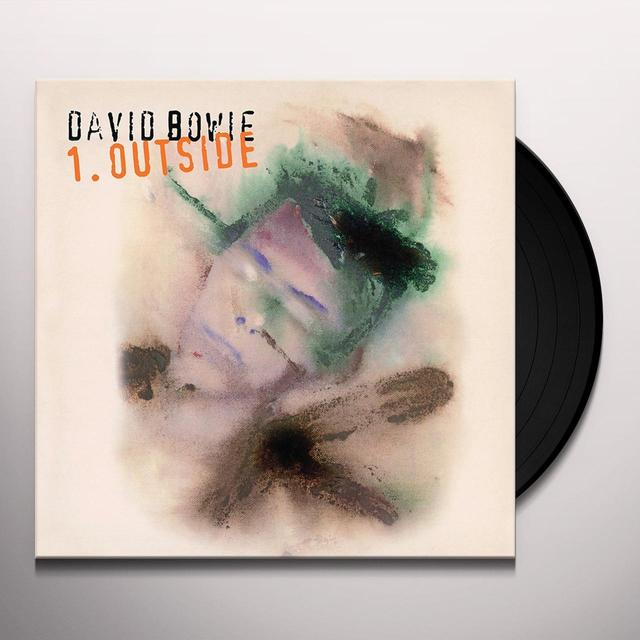 David Bowie OUTSIDE Vinyl Record - Limited Edition, 180 Gram Pressing, Anniversary Edition