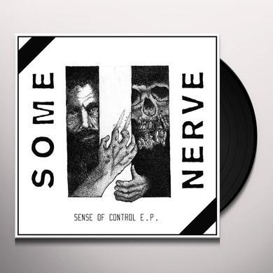 SOME NERVE SENSE OF CONTROL Vinyl Record