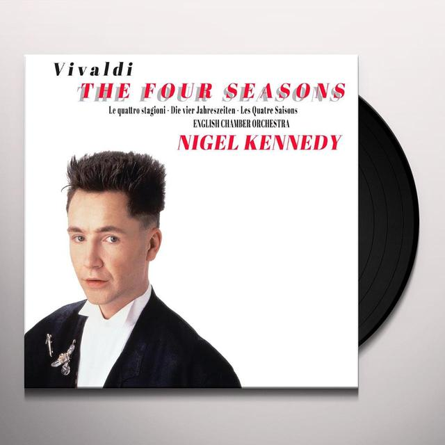 Vivaldi / Nigel Kennedy FOUR SEASONS Vinyl Record