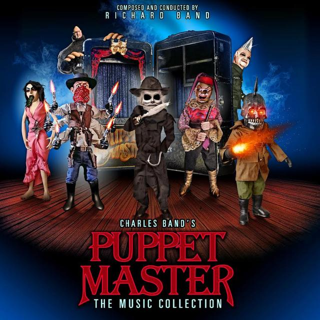 Richard Band PUPPET MASTER: THE MUSIC COLLECTION Vinyl Record - Gatefold Sleeve, Limited Edition