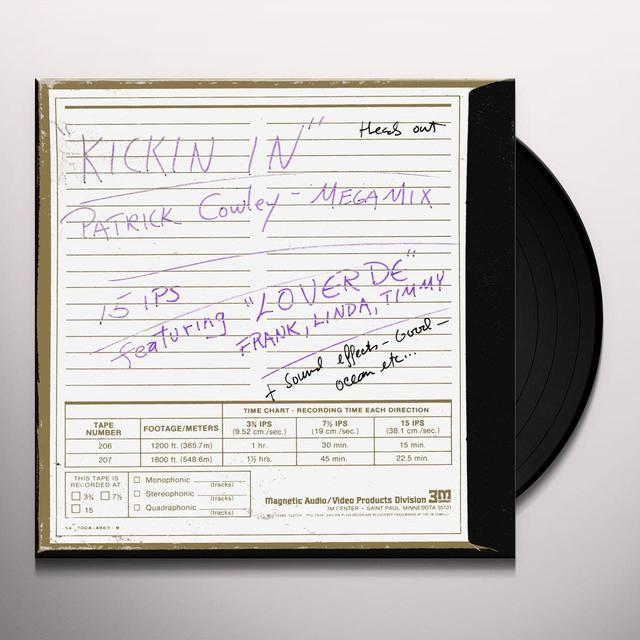 Patrick Cowley KICKIN' IN Vinyl Record
