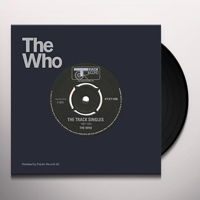 The Who TRACK RECORDS SINGLES Vinyl Record