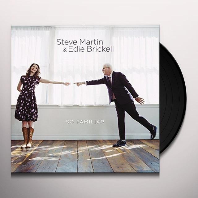 Steve Martin / Edie Brickell SO FAMILIAR Vinyl Record