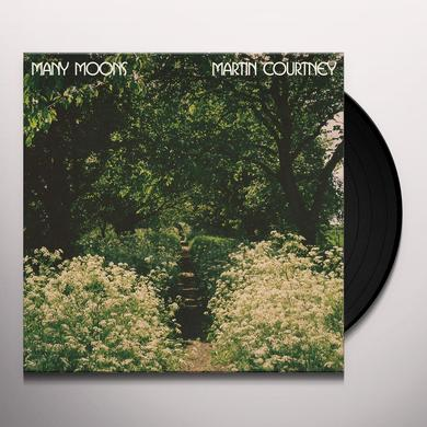 Martin Courtney MANY MOONS Vinyl Record - Digital Download Included