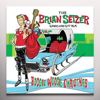 Brian Setzer BOOGIE WOOGIE CHRISTMAS Vinyl Record - Colored Vinyl, Digital Download Included