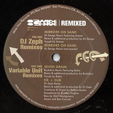 DJ ZEPH / VARIABLE UNIT - REMIXES Vinyl Record