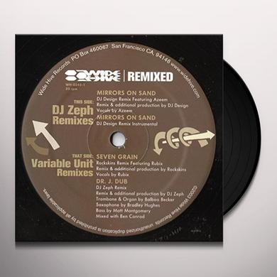 DJ ZEPH / VARIABLE UNIT - REMIXES Vinyl Record
