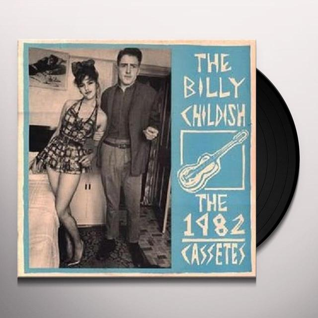 Billy Childish 1982 CASSETES Vinyl Record - Limited Edition, Reissue