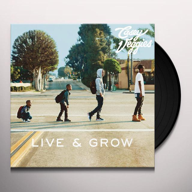 Casey Veggies LIVE & GROW Vinyl Record