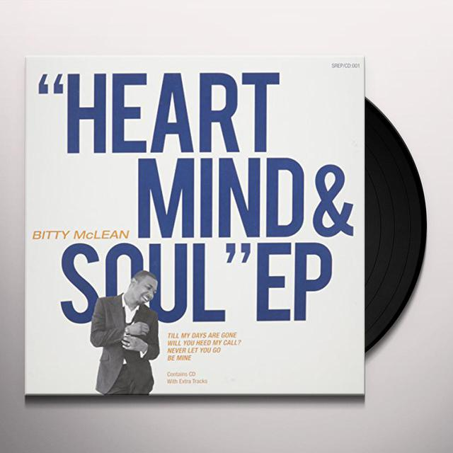 Bitty Mclean HEART MIND & SOUL Vinyl Record