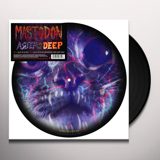 Mastodon ASLEEP IN THE DEEP Vinyl Record