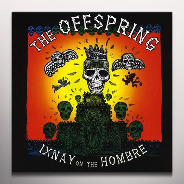 The Offspring IXNAY ON THE HOMBRE Vinyl Record - Colored Vinyl, Green Vinyl, 180 Gram Pressing