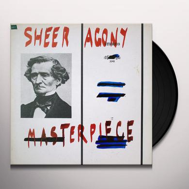 Sheer Agony MASTERPIECE Vinyl Record