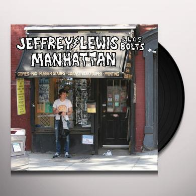 Jeffrey Lewis & Los Bolts MANHATTAN Vinyl Record