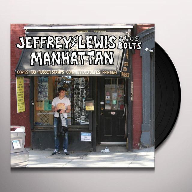 Jeffrey Lewis & Los Bolts MANHATTAN Vinyl Record - Digital Download Included