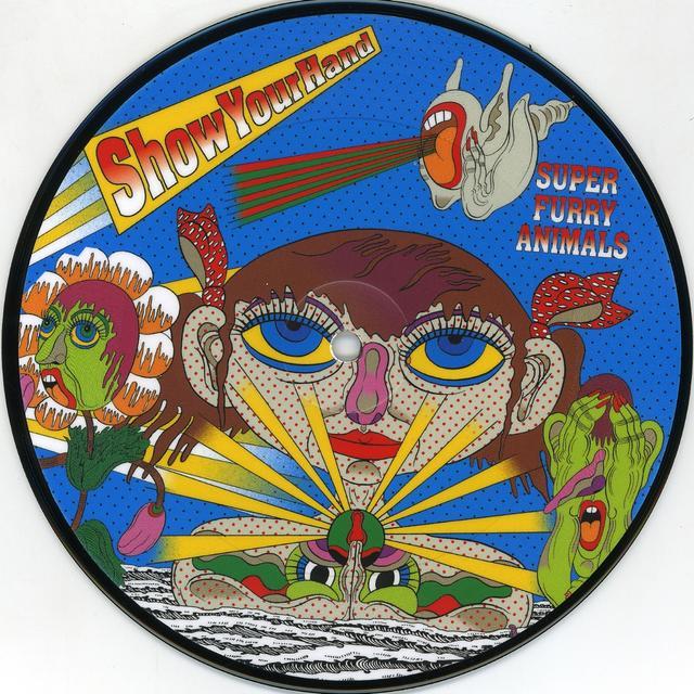 Super Furry Animals SHOW YOUR HAND Vinyl Record