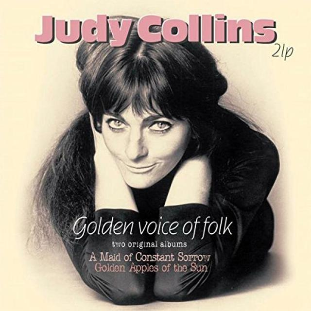 Judy Collins GOLDEN VOICE OF FOLK: TWO ORIGINAL ALBUMS Vinyl Record