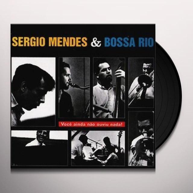 Sérgio Mendes & BOSSA RIO Vinyl Record - UK Import