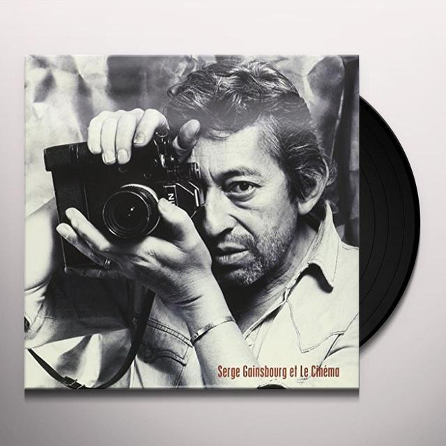 Serge Gainsbourg ET LE CINEMA Vinyl Record - UK Import