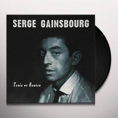 Serge Gainsbourg TROIS ET QUATRE Vinyl Record - UK Import