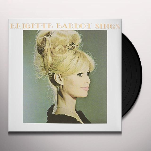 Brigitte Bardot SINGS Vinyl Record - UK Import