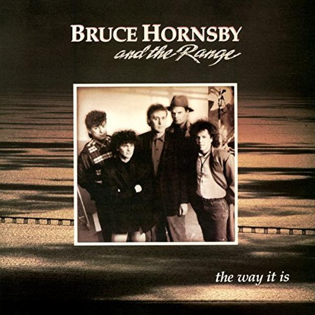 Bruce Hornsby and the Range WAY IT IS Vinyl Record - Holland Release