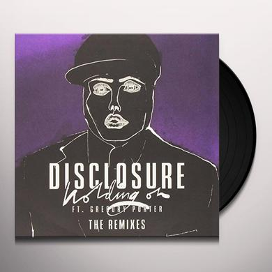 Disclosure HOLDING ON Vinyl Record - UK Import