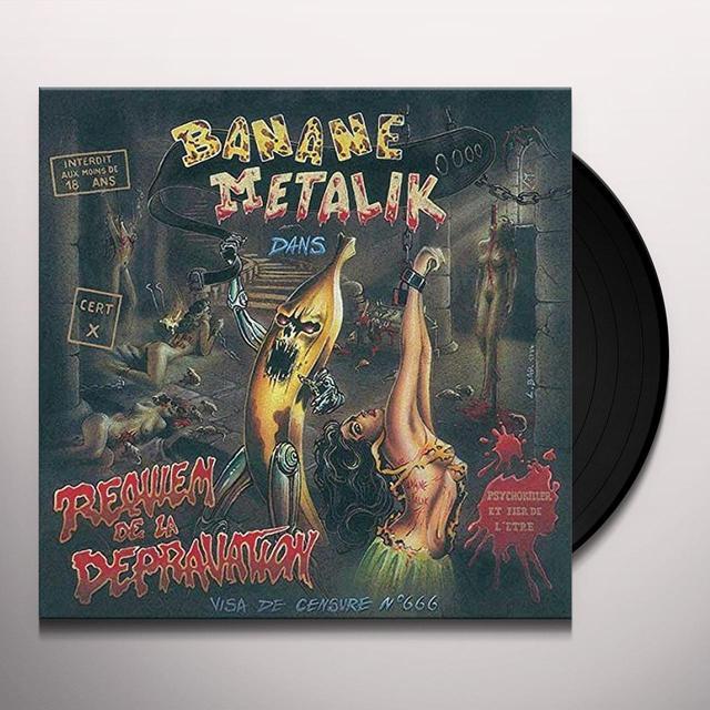 Banane Metalik REQUIEM DE LA DEPRAVATION Vinyl Record - UK Import