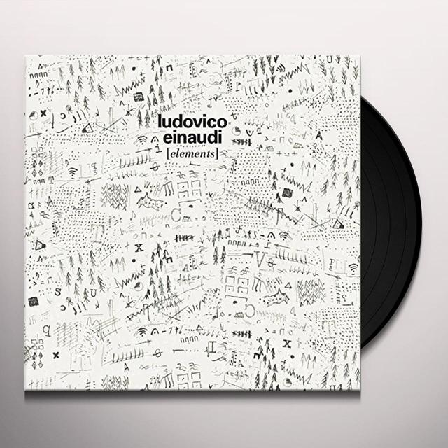 Ludovico Einaudi ELEMENTS Vinyl Record - UK Import