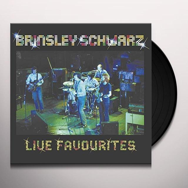 Brinsley Schwarz LIVE FAVOURITES Vinyl Record - UK Import
