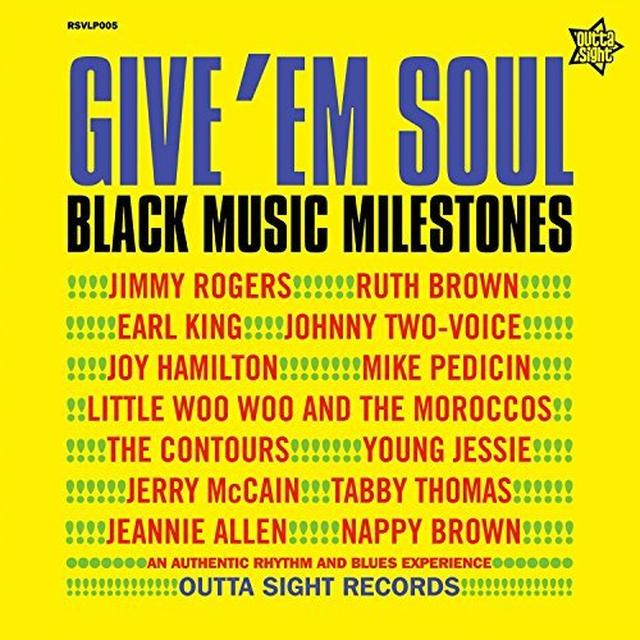 GIVE EM SOUL 2 / VARIOUS (UK) GIVE EM SOUL 2 / VARIOUS Vinyl Record