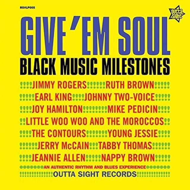 GIVE EM SOUL 2 / VARIOUS (UK) GIVE EM SOUL 2 / VARIOUS Vinyl Record - UK Import