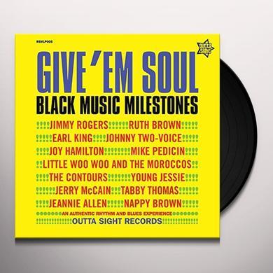 GIVE EM SOUL 2 / VARIOUS (UK) GIVE EM SOUL 2 / VARIOUS Vinyl Record