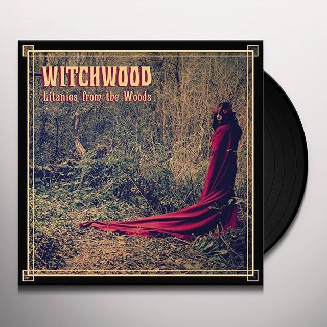WITCHWOOD LITANIES FROM THE WOODS Vinyl Record - UK Import