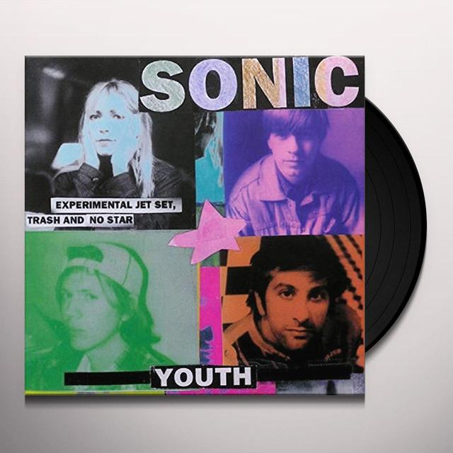 Sonic Youth EXPERIMENTAL JET SET TRASH & NO STAR Vinyl Record - UK Release