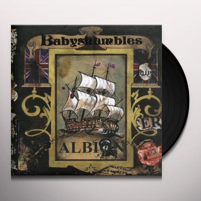 Babyshambles ALBION Vinyl Record - UK Release