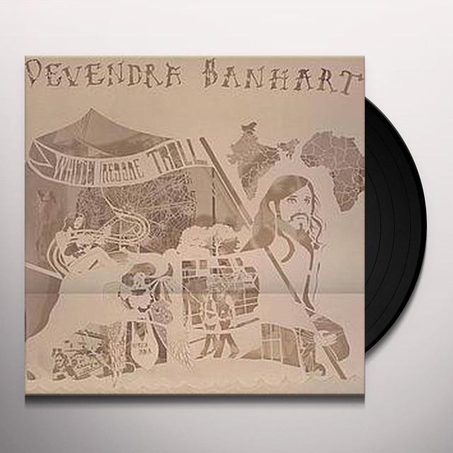 Devendra Banhart WHITE REGGAE TROLL Vinyl Record - UK Import
