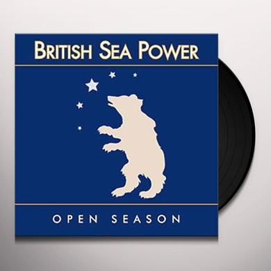 British Sea Power OPEN SEASON Vinyl Record - UK Import