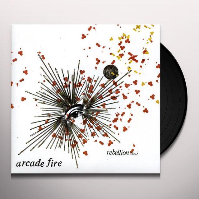 Arcade Fire REBEILLION LIES Vinyl Record - UK Release