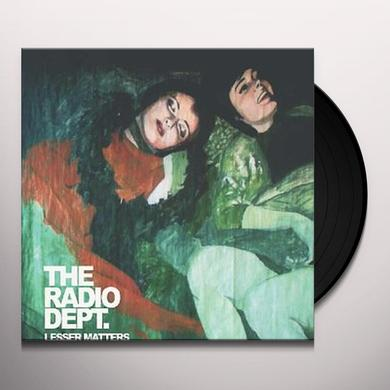 Radio Dept. LESSER MATTERS Vinyl Record - UK Import