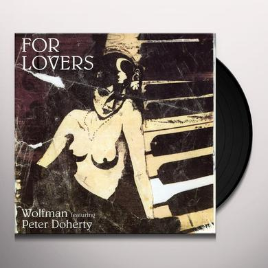 WOLFMAN FEAT PETE D FOR LOVERS Vinyl Record - UK Release