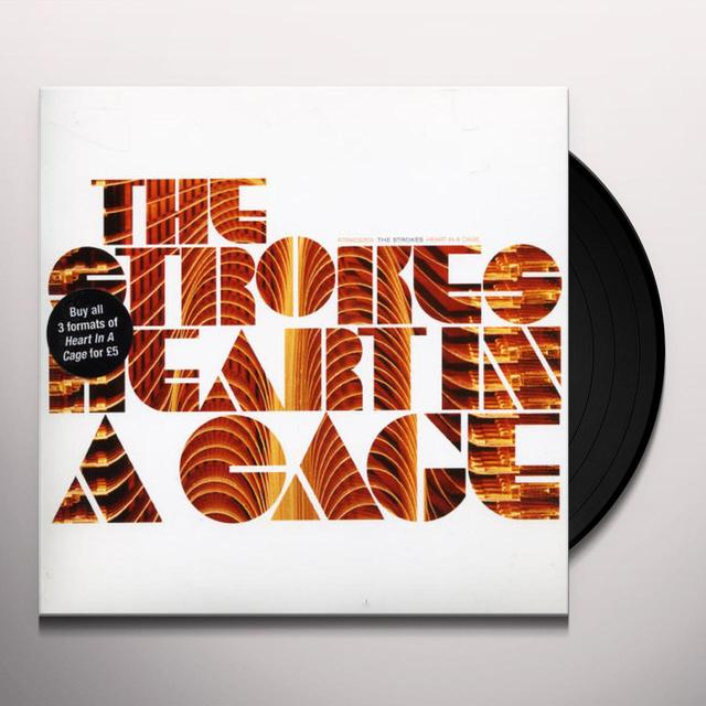 Strokes HEART IN A CAGE Vinyl Record - UK Release