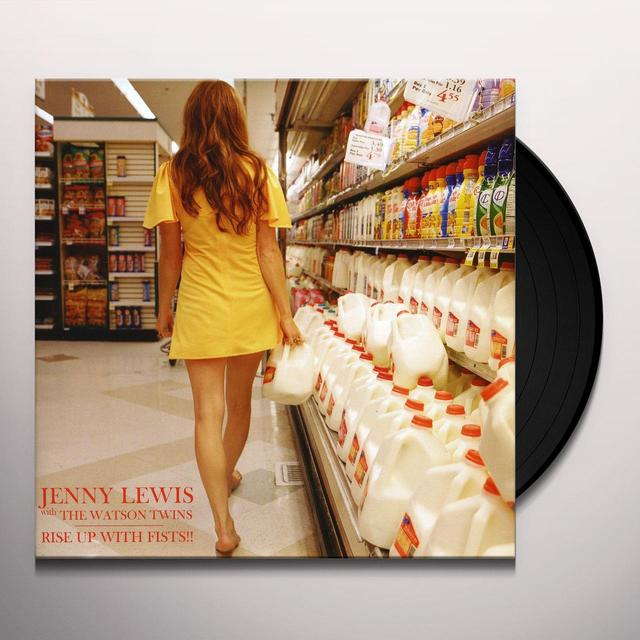 Jenny Lewis RISE UP WITH FISTS Vinyl Record - UK Release