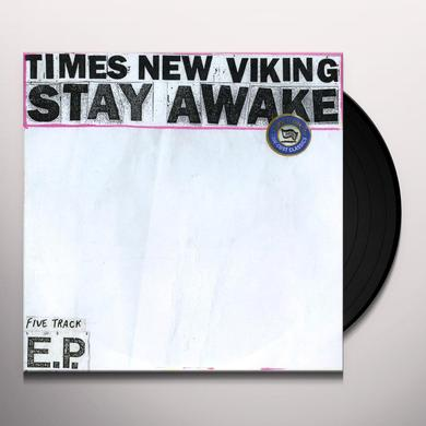 Times New Viking STAY AWAKE Vinyl Record