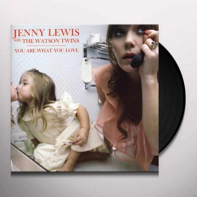 Jenny Lewis YOU ARE WHAT YOU LOVE Vinyl Record - UK Import