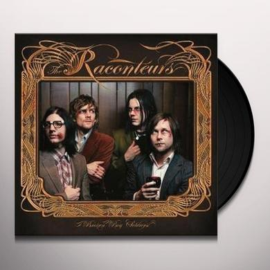 The Raconteurs BROKEN BOY SOLDIERS Vinyl Record - UK Import