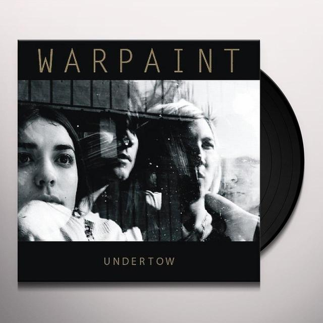 UNDERTOW/WARPAINT Vinyl Record - UK Import
