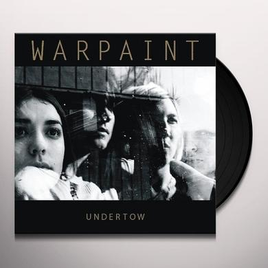 UNDERTOW/WARPAINT Vinyl Record - UK Release