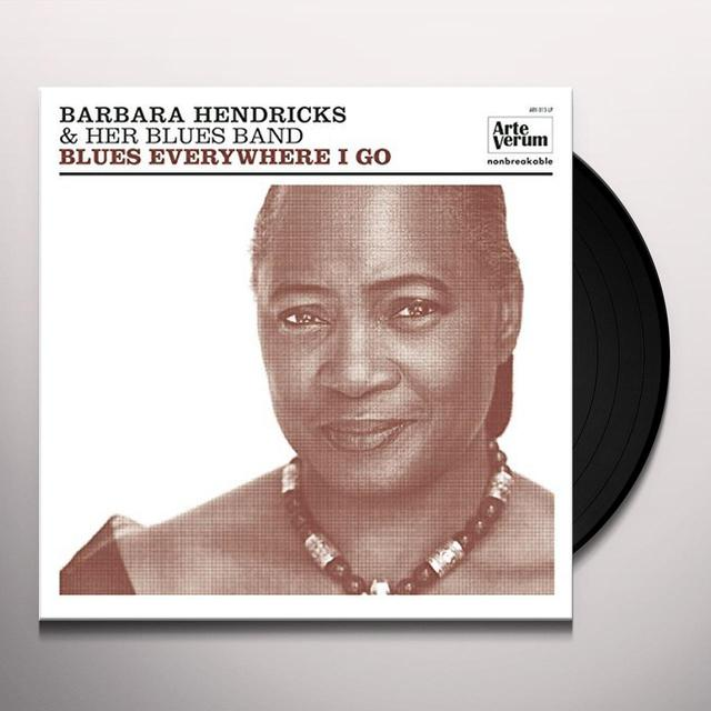 Barbara Hendricks BLUES EVERYWHERE I GO Vinyl Record - w/CD